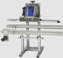 continuous heavy duty bag sealing machine